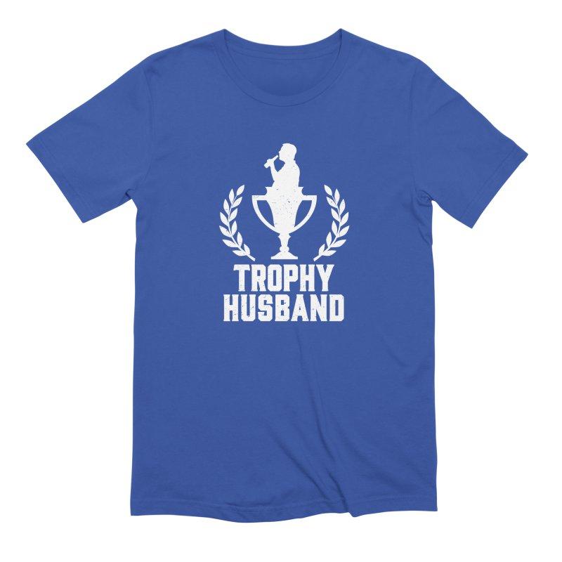 Trophy Husband Men's Extra Soft T-Shirt by Jerkass