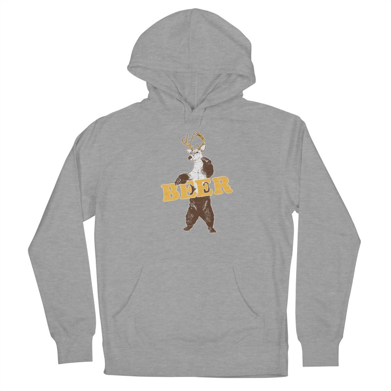 Bear + Deer = Beer Women's Pullover Hoody by Jerkass