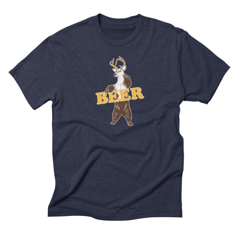 Bear + Deer = Beer Men's T-Shirt by Jerkass