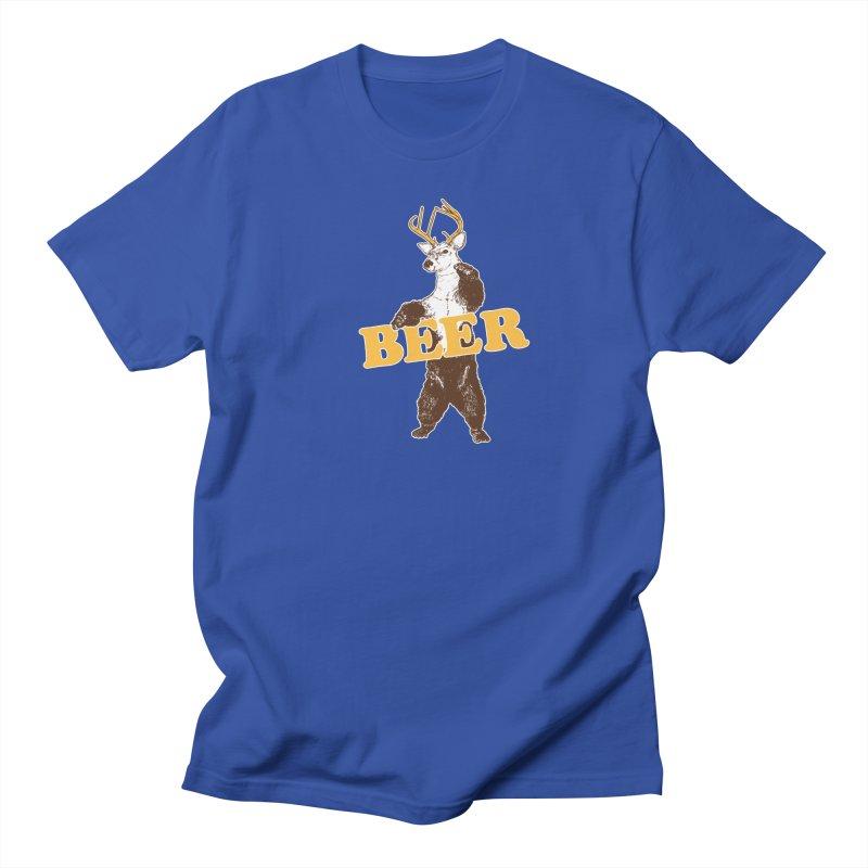 Bear + Deer = Beer Women's Regular Unisex T-Shirt by Jerkass