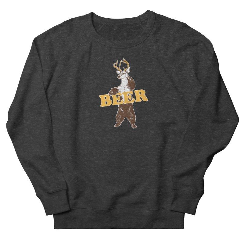 Bear + Deer = Beer Women's French Terry Sweatshirt by Jerkass