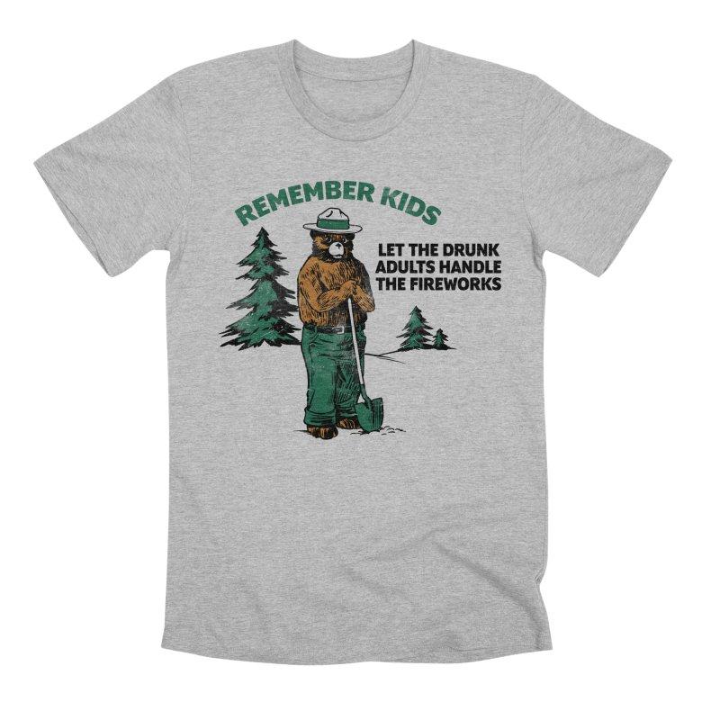 Smokey Men's Premium T-Shirt by Jerkass