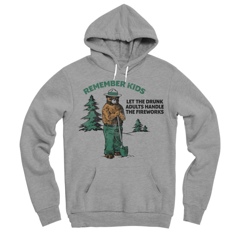 Smokey Men's Sponge Fleece Pullover Hoody by Jerkass