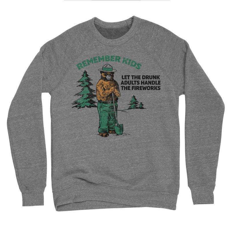 Smokey Men's Sponge Fleece Sweatshirt by Jerkass