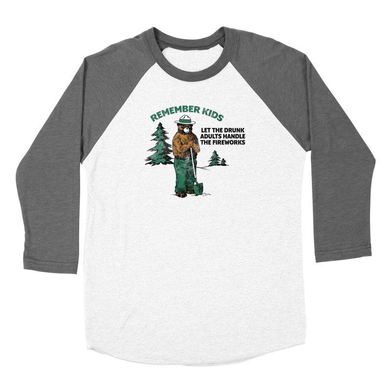 Smokey Women's Baseball Triblend Longsleeve T-Shirt by Jerkass