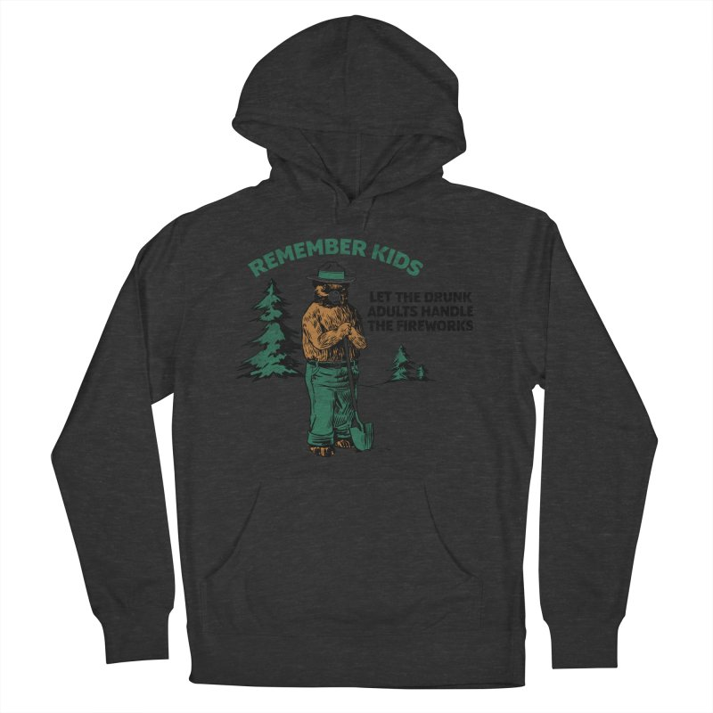 Smokey Women's French Terry Pullover Hoody by Jerkass