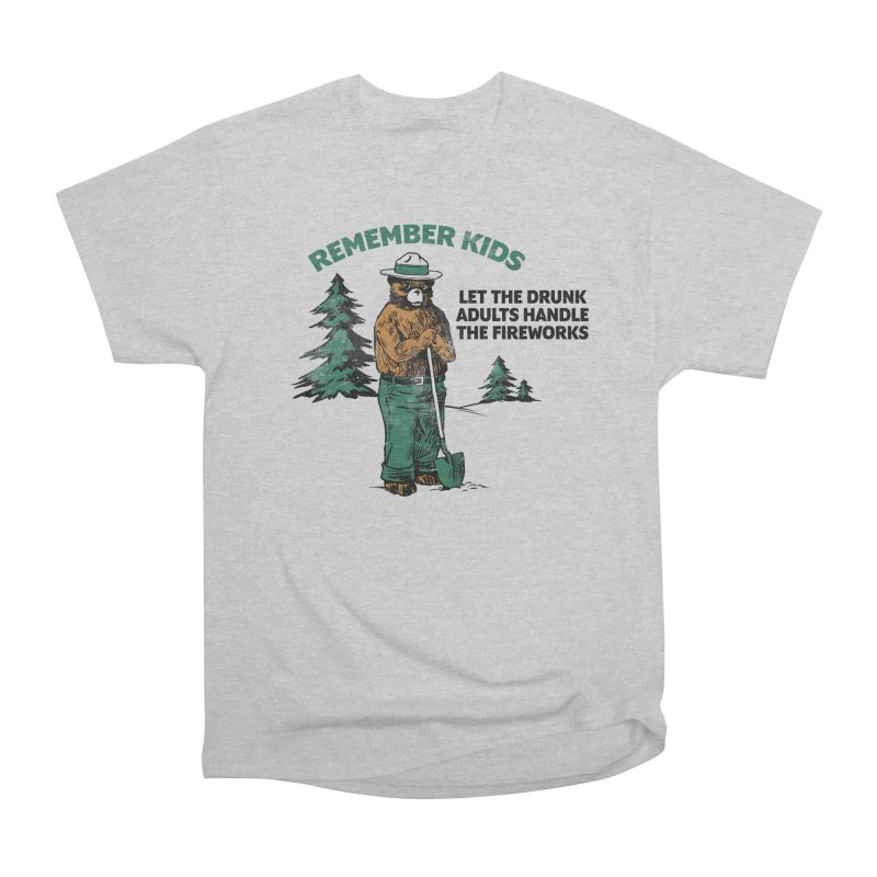 Smokey Men's Heavyweight T-Shirt by Jerkass
