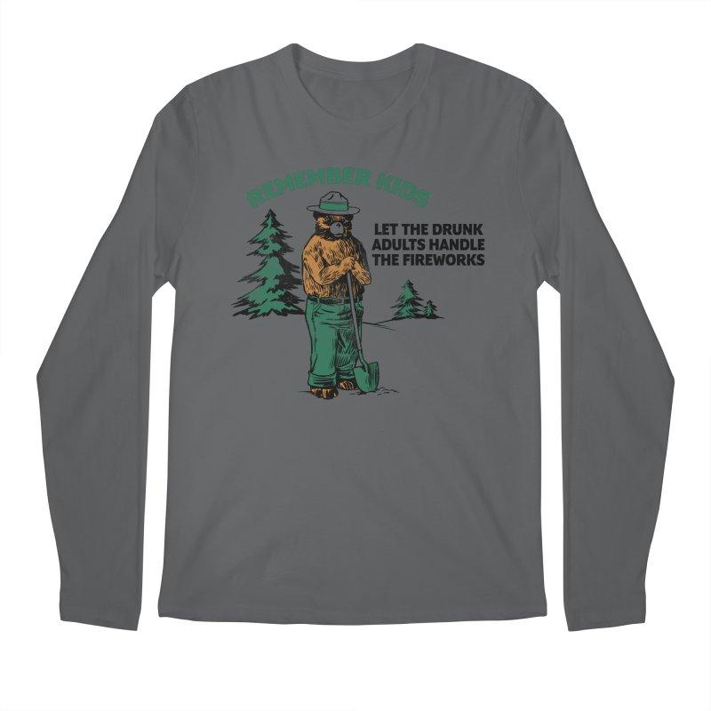 Smokey Men's Regular Longsleeve T-Shirt by Jerkass