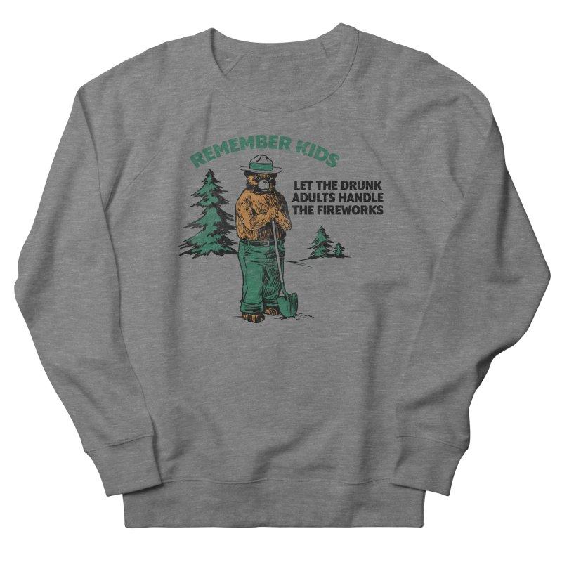 Smokey Men's French Terry Sweatshirt by Jerkass