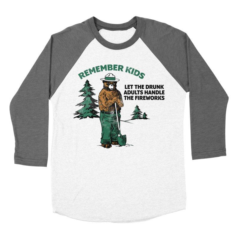 Smokey Men's Baseball Triblend Longsleeve T-Shirt by Jerkass