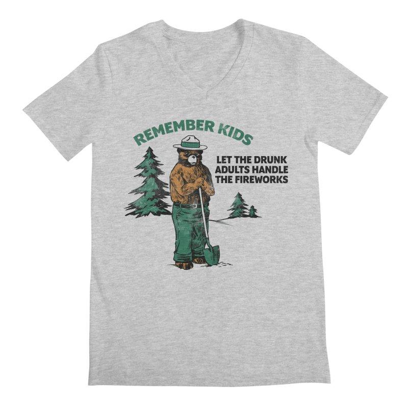 Smokey Men's Regular V-Neck by Jerkass
