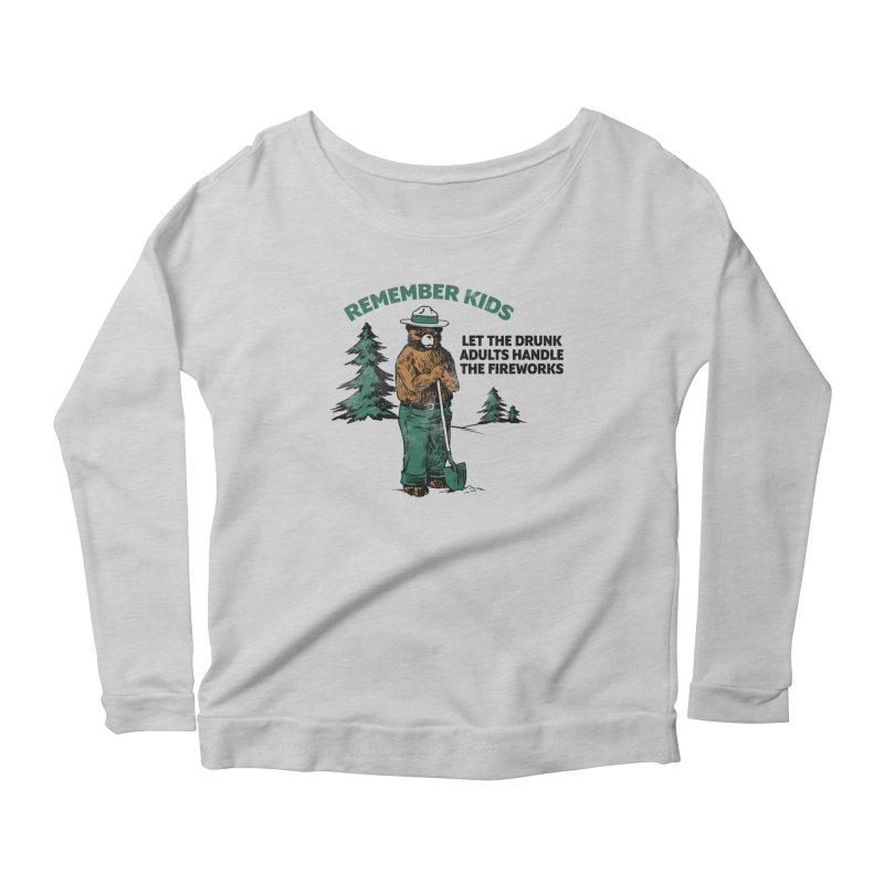 Smokey Women's Scoop Neck Longsleeve T-Shirt by Jerkass