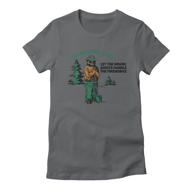 Smokey Women's Fitted T-Shirt by Jerkass