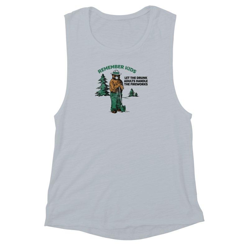 Smokey Women's Muscle Tank by Jerkass