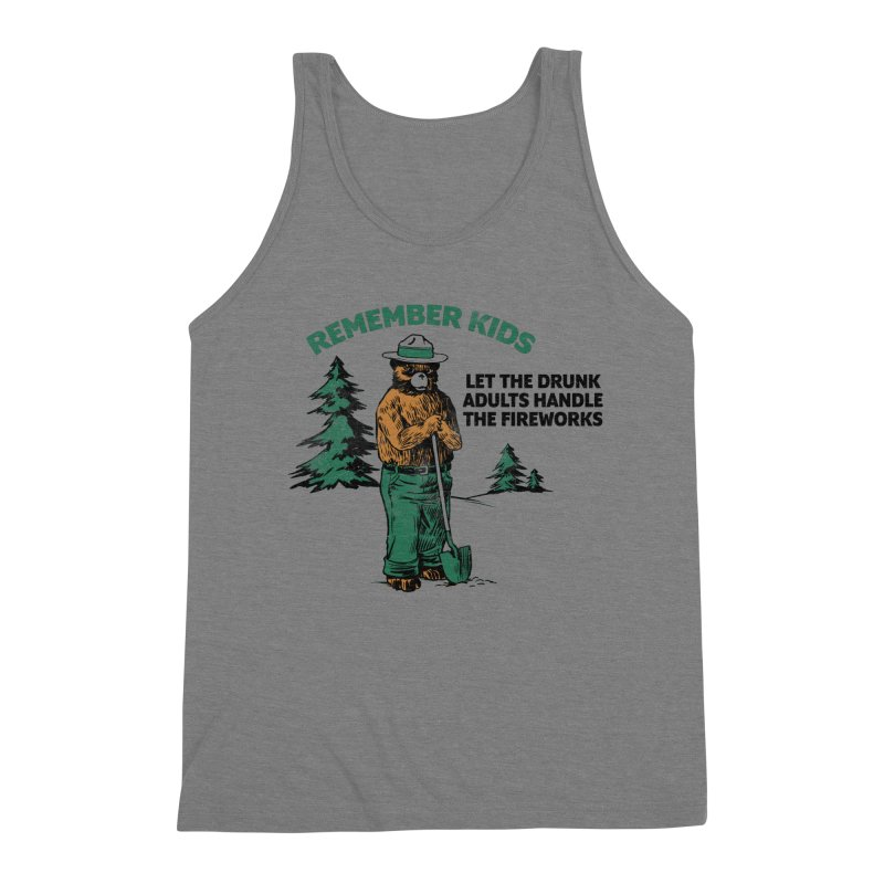 Smokey Men's Triblend Tank by Jerkass