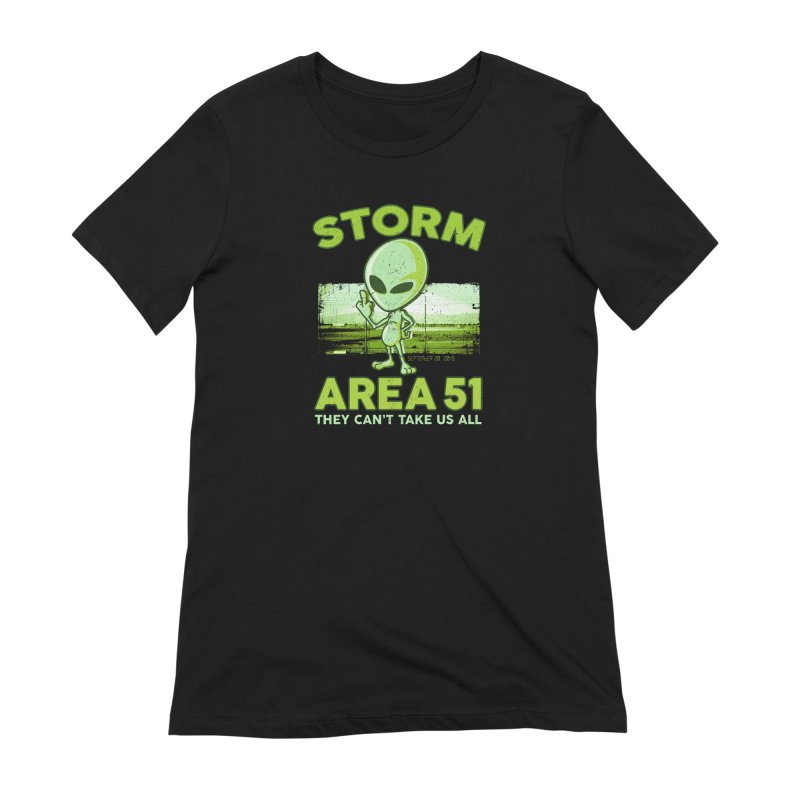 Storm Area 51 Women's Extra Soft T-Shirt by Jerkass
