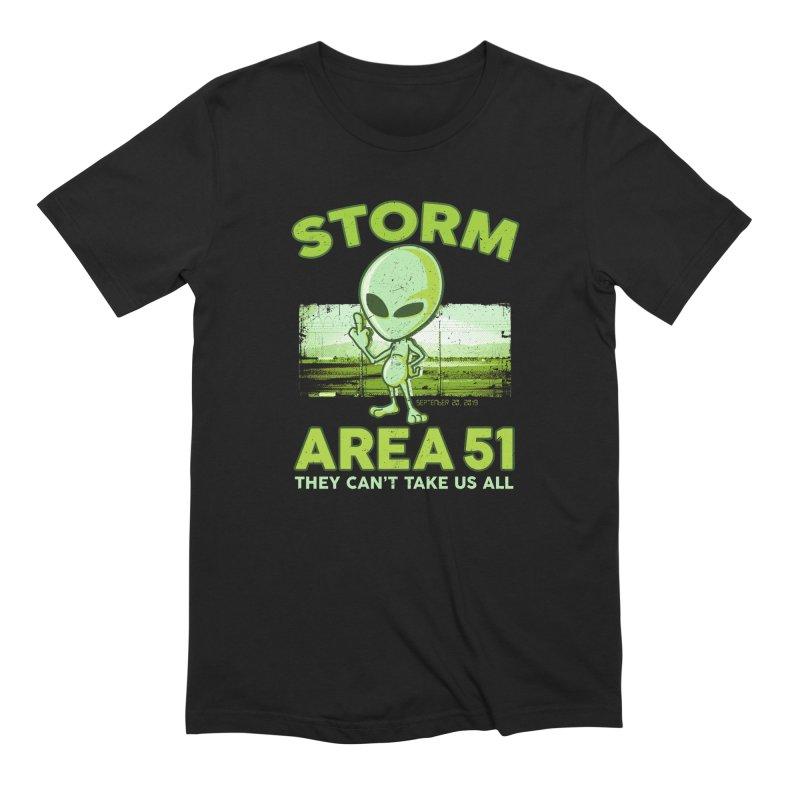 Storm Area 51 Men's Extra Soft T-Shirt by Jerkass