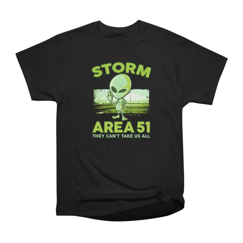 Storm Area 51 Men's Heavyweight T-Shirt by Jerkass