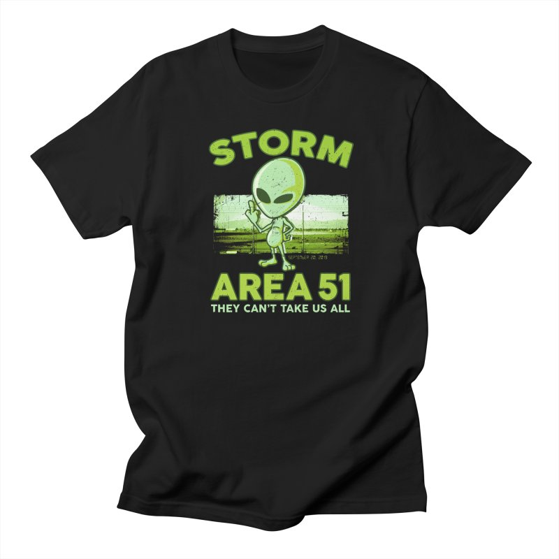 Storm Area 51 Men's Regular T-Shirt by Jerkass