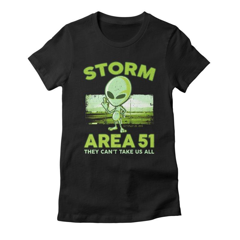Storm Area 51 Women's T-Shirt by Jerkass