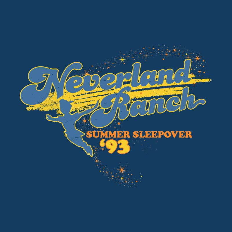 Neverland Ranch Summer Sleepover '93 Home Blanket by Jerkass Clothing Co.