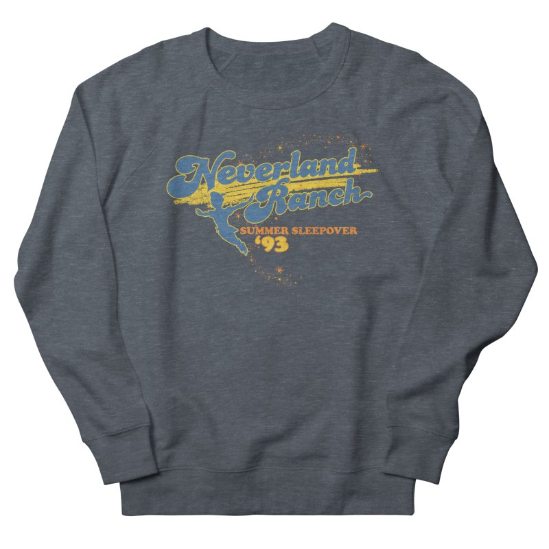 Neverland Ranch Summer Sleepover '93 Men's French Terry Sweatshirt by Jerkass Clothing Co.