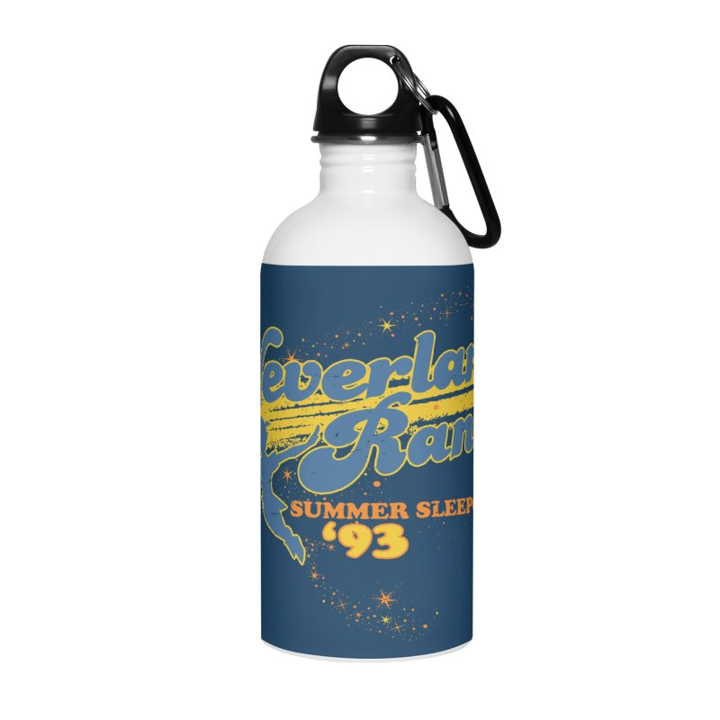 Neverland Ranch Summer Sleepover '93 Accessories Water Bottle by Jerkass Clothing Co.