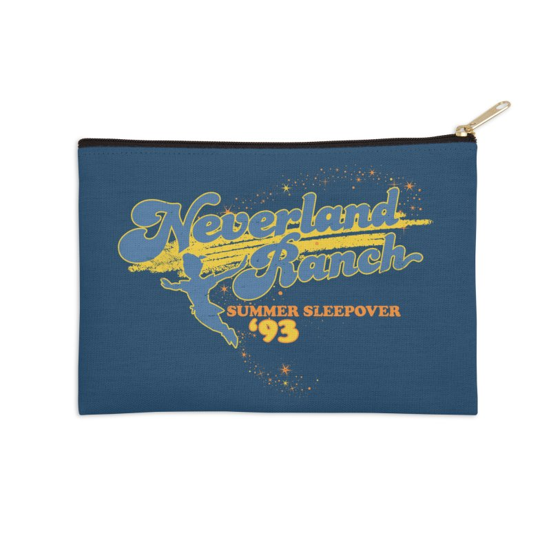 Neverland Ranch Summer Sleepover '93 Accessories Zip Pouch by Jerkass Clothing Co.