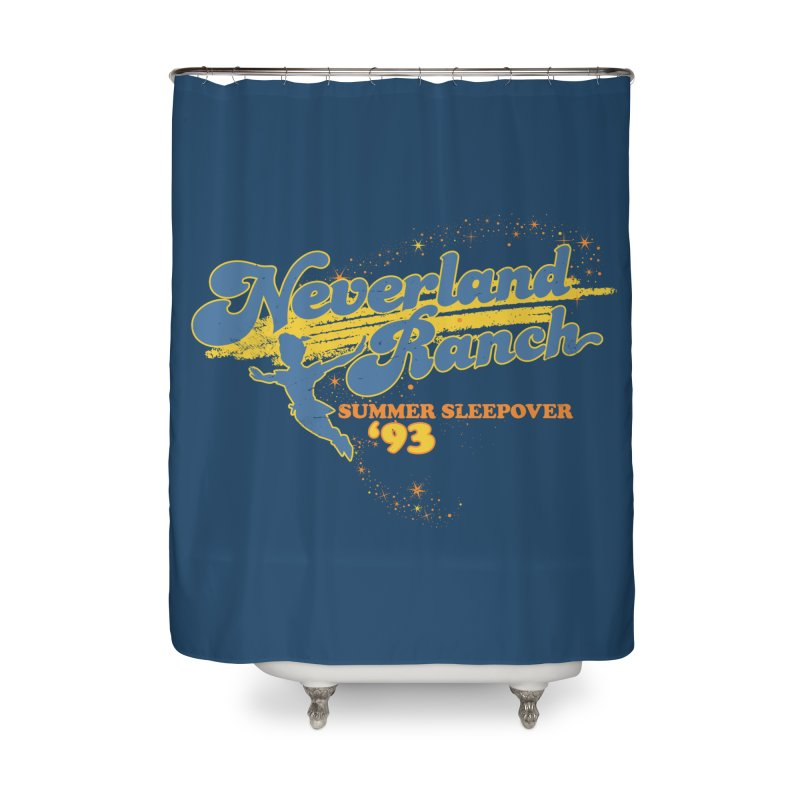 Neverland Ranch Summer Sleepover '93 Home Shower Curtain by Jerkass Clothing Co.