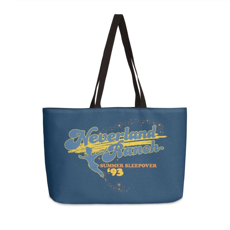 Neverland Ranch Summer Sleepover '93 Accessories Weekender Bag Bag by Jerkass Clothing Co.