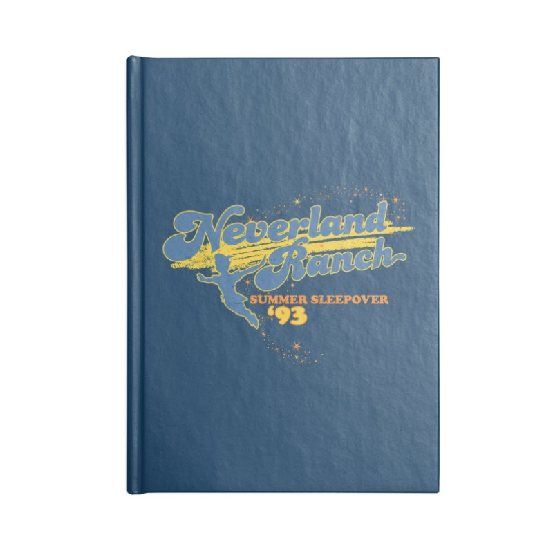 Neverland Ranch Summer Sleepover '93 Accessories Lined Journal Notebook by Jerkass Clothing Co.