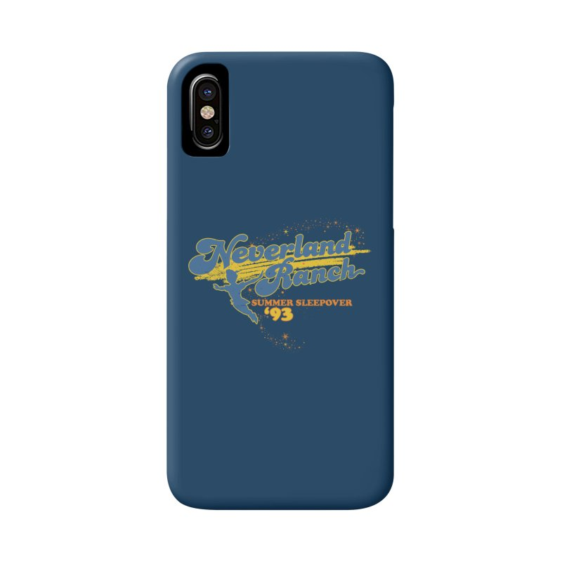 Neverland Ranch Summer Sleepover '93 Accessories Phone Case by Jerkass Clothing Co.