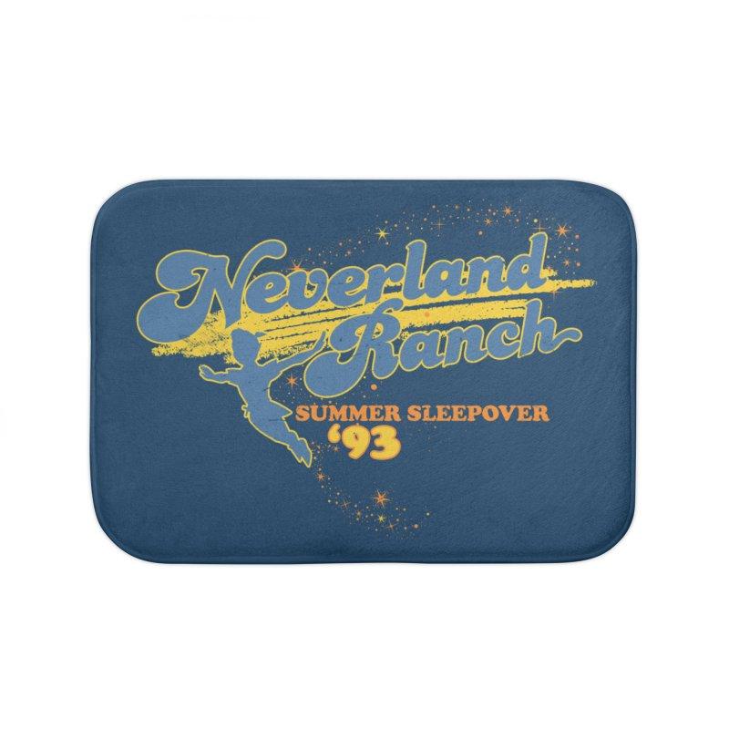 Neverland Ranch Summer Sleepover '93 Home Bath Mat by Jerkass Clothing Co.