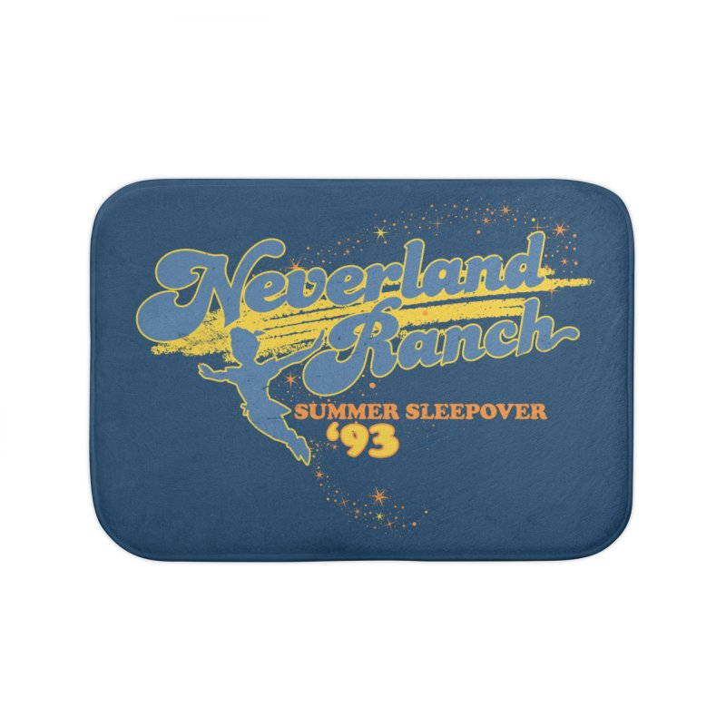 Neverland Ranch Summer Sleepover '93 Home Bath Mat by Jerkass Clothing Co.