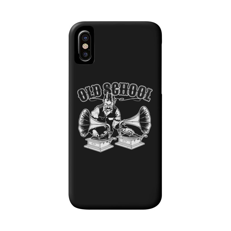 Old School DJ Jebediah Accessories Phone Case by Jerkass Clothing Co.