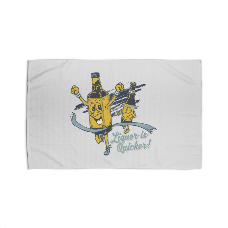 Liquor is Quicker! Home Rug by Jerkass Clothing Co.