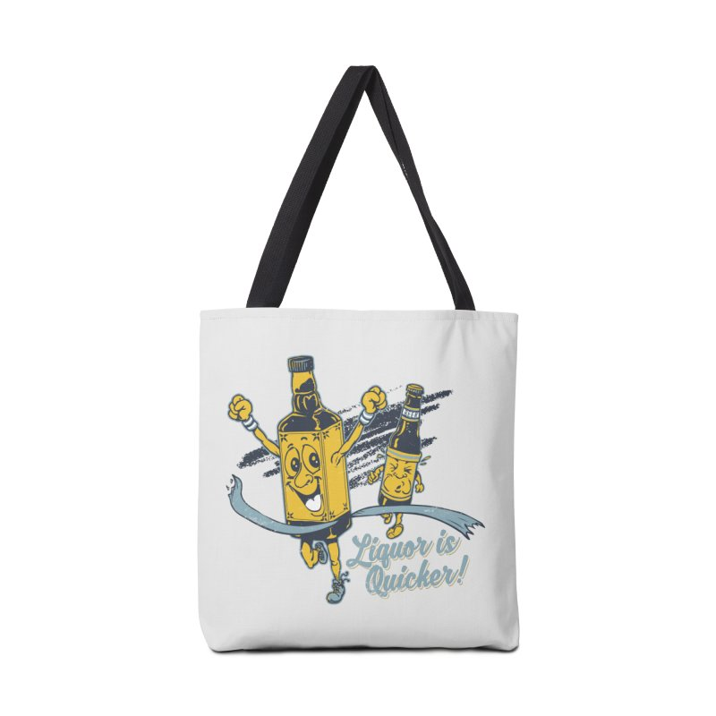 Liquor is Quicker! Accessories Bag by Jerkass Clothing Co.
