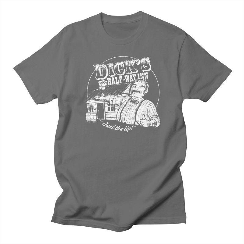 Dick's Half-Way Inn Men's T-Shirt by Jerkass Clothing Co.