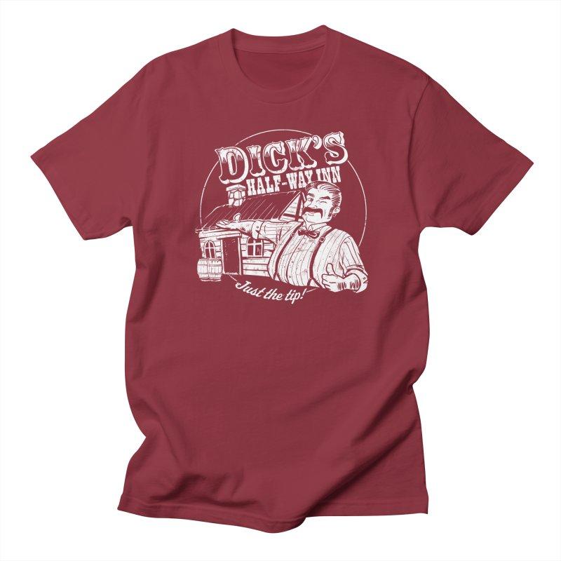 Dick's Half-Way Inn Women's Unisex T-Shirt by Jerkass Clothing Co.