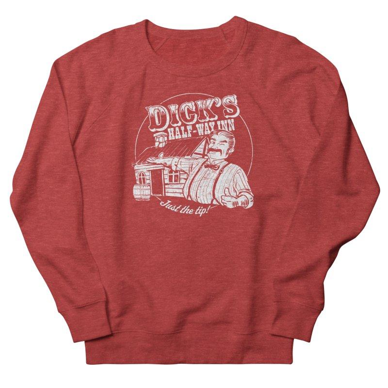 Dick's Half-Way Inn Women's Sweatshirt by Jerkass Clothing Co.