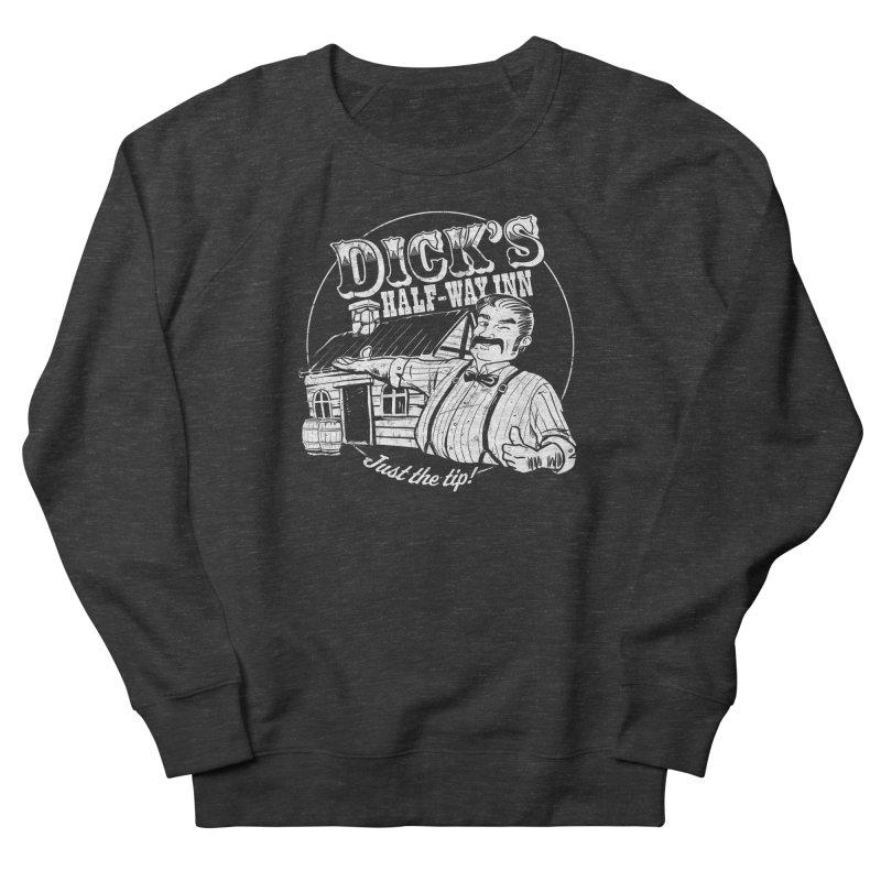 Dick's Half-Way Inn Men's Sweatshirt by Jerkass Clothing Co.