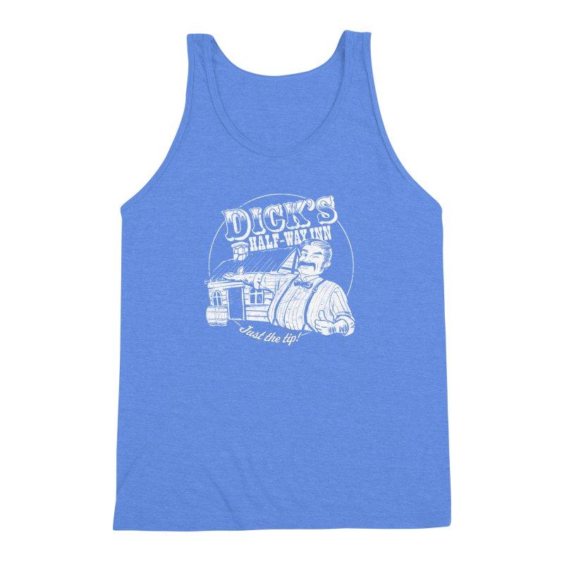 Dick's Half-Way Inn Men's Triblend Tank by Jerkass Clothing Co.
