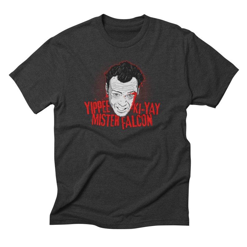 Yippee Ki-Yay Mister Falcon Men's T-Shirt by Jerkass