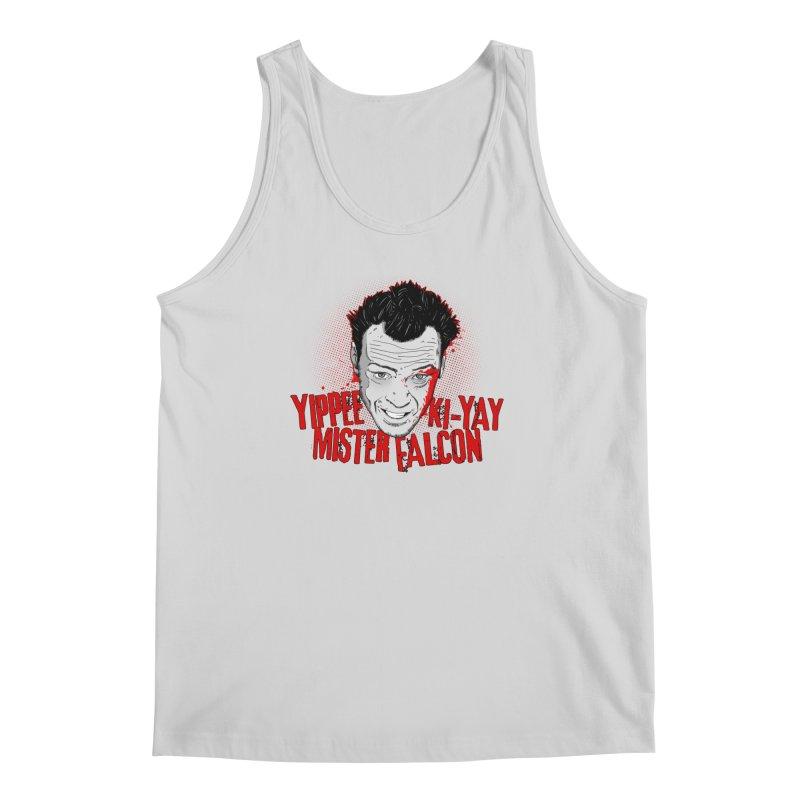 Yippee Ki-Yay Mister Falcon Men's Tank by Jerkass Clothing Co.