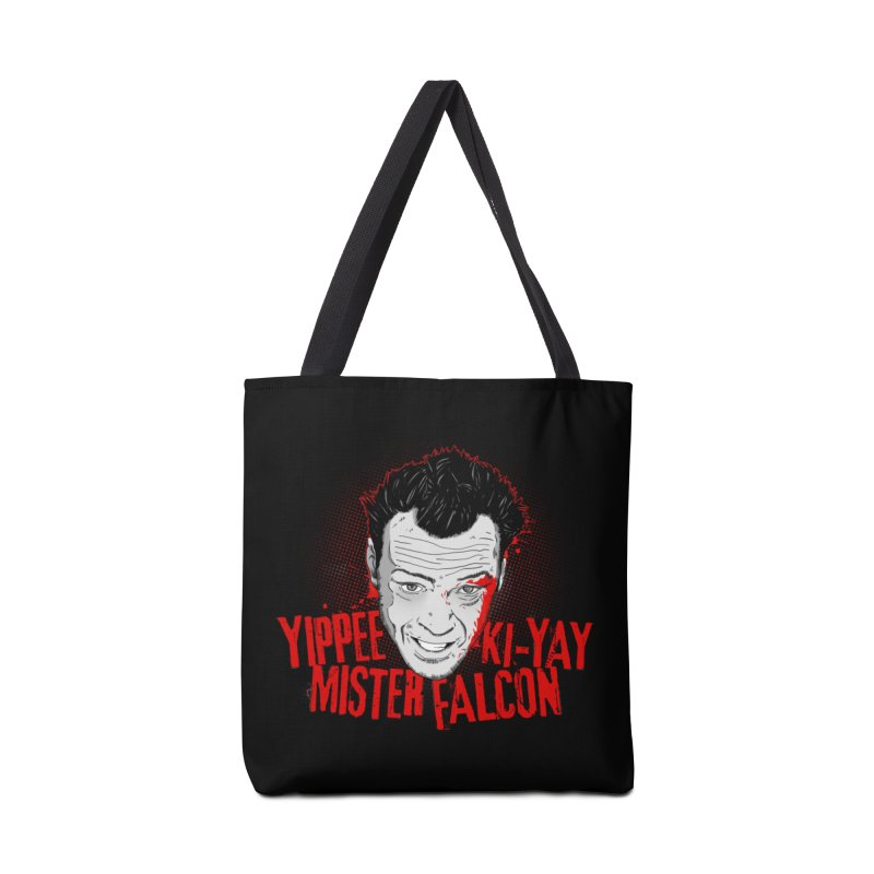 Yippee Ki-Yay Mister Falcon Accessories Bag by Jerkass Clothing Co.