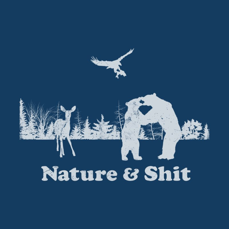 Nature & Shit Men's Triblend T-Shirt by Jerkass Clothing Co.