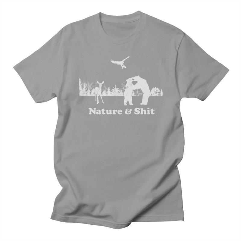 Nature & Shit Men's Regular T-Shirt by Jerkass