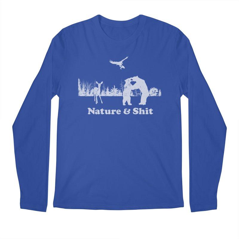 Nature & Shit Men's Regular Longsleeve T-Shirt by Jerkass