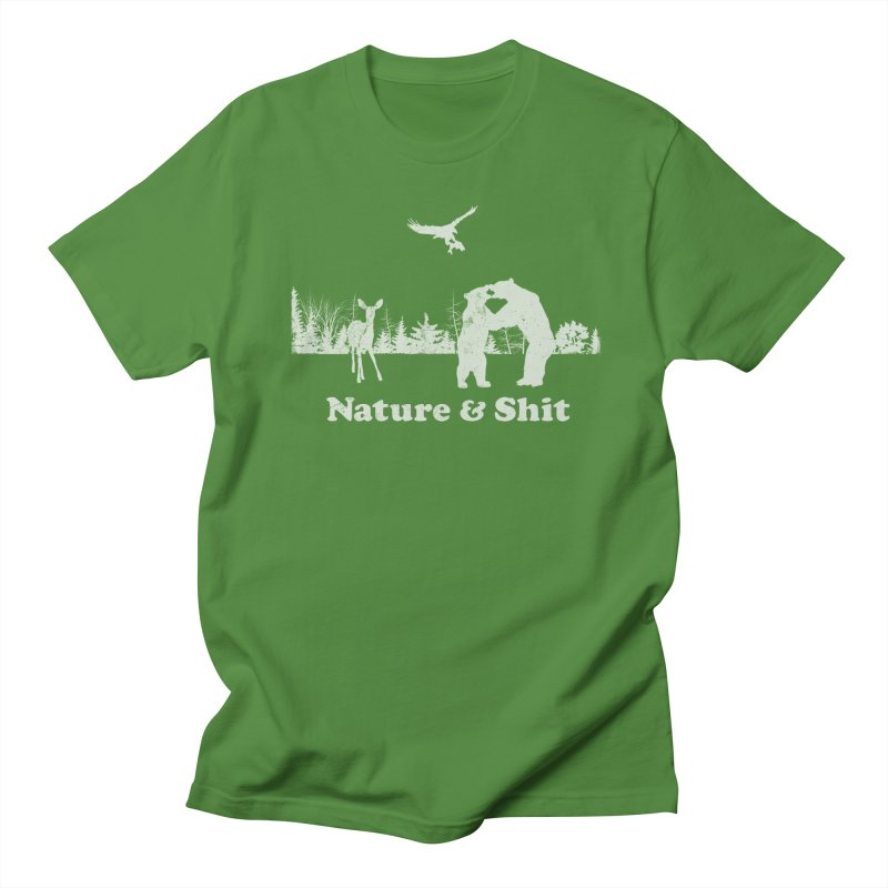 Nature & Shit Men's Regular T-Shirt by Jerkass Clothing Co.