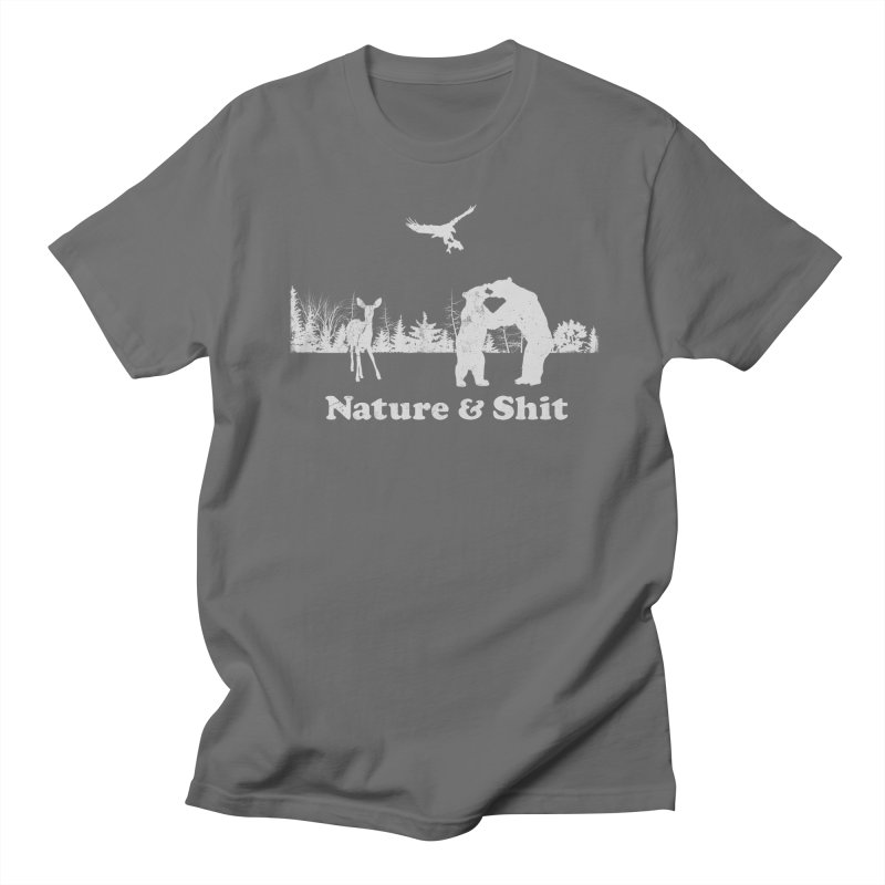 Nature & Shit Men's T-Shirt by Jerkass Clothing Co.